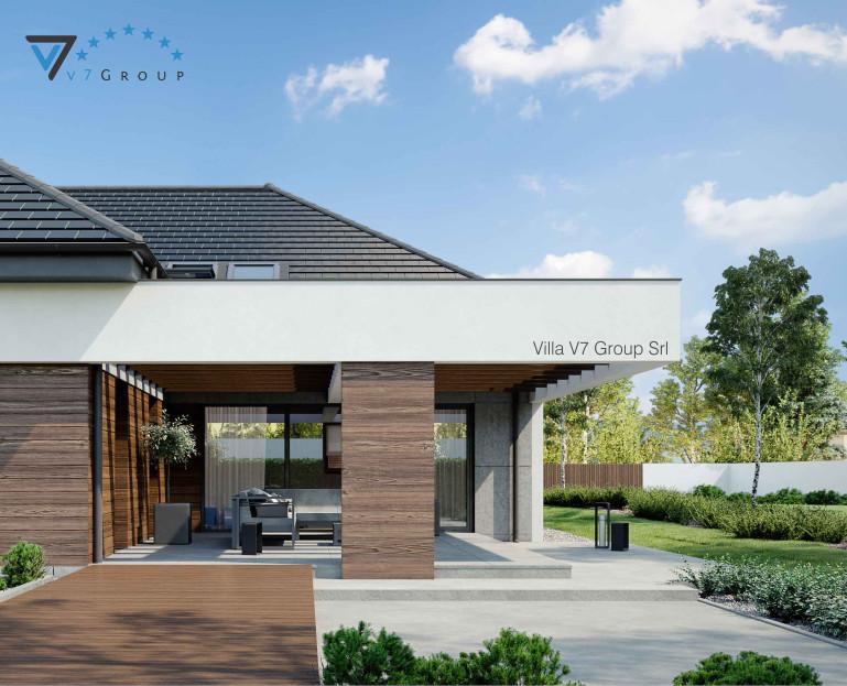 Immagine Villa V26 - variante 3 - il terrazzo esterno
