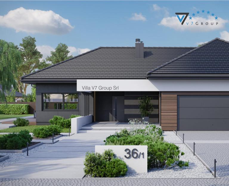 Immagine Villa V36 - variante 1 - baner di piccoli dimensioni