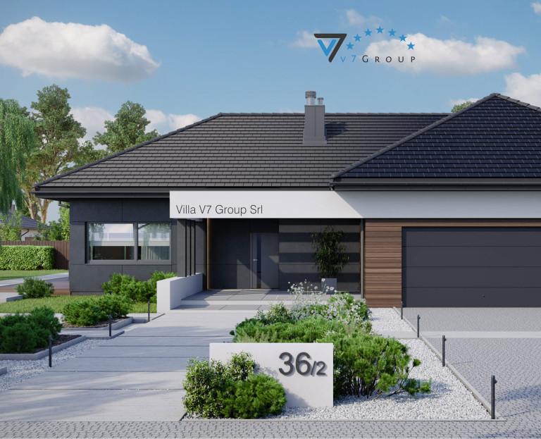 Immagine Villa V36 - variante 2 - baner di piccole dimensioni