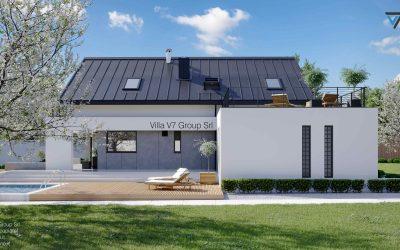Villa V2 (G2) ENERGO – Variante 1 – Nuova Villa