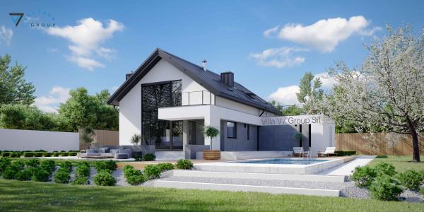 Immagine Nostre Ville - la parte giardino di Villa V2 (G2) ENERGO - Variante 1
