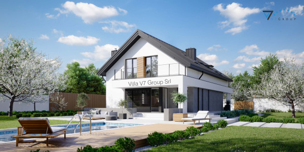 Immagine Nostre Ville - la vista piscina di Villa V78