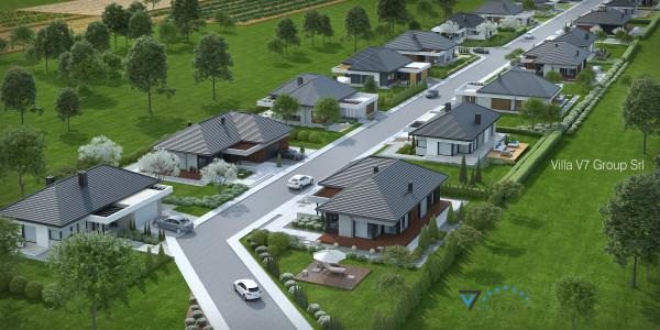 Immagine Ville di V7 Group Srl - la strada principale del villaggio Frame House