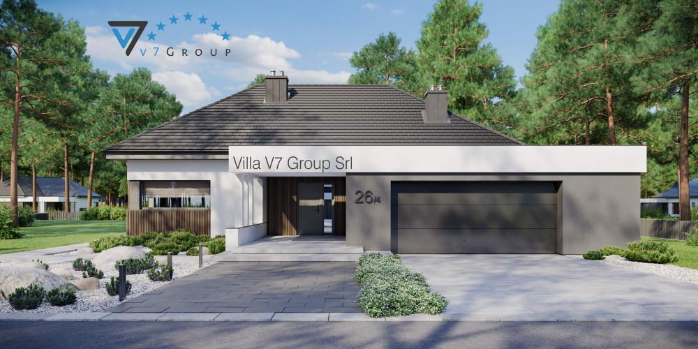 Immagine Villa V26 - variante 6 - la presentazione di Villa V26 - variante 4