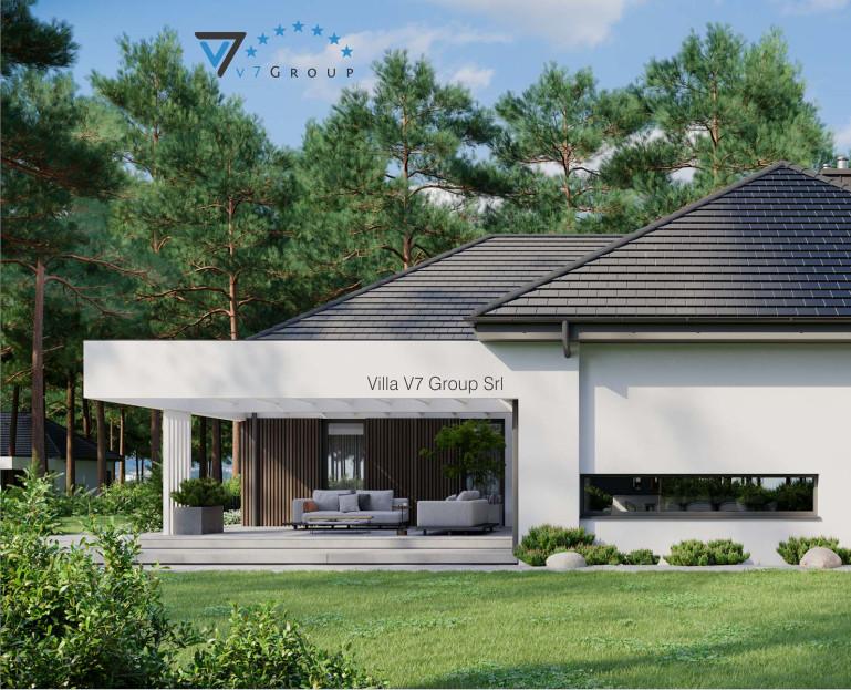 Immagine Villa V26 - variante 4 - il terrazzo esterno