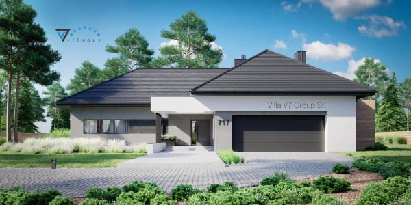 Immagine Ville di V7 Group Srl - la vista frontale di Villa NH V717