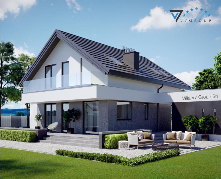 Immagine Villa V3 (progetto originale) - vista giardino