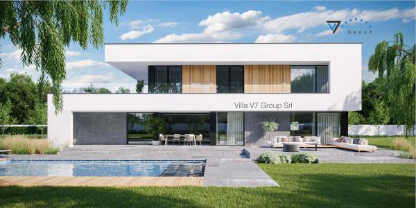 Immagine Ville di V7 Group Srl - la vista frontale di Villa V727
