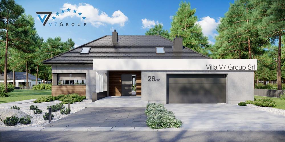 Immagine Villa V26 - variante 10 - la presentazione di Villa V26 - Variante 12
