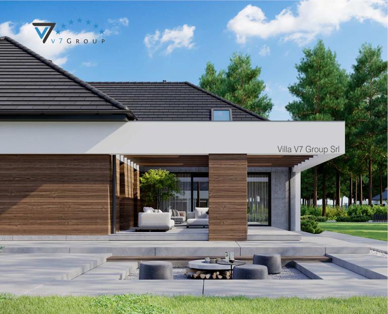 Immagine Villa V26 - variante 12 - il terrazzo esterno