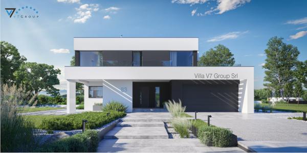 Immagine Ville di V7 Group Srl - la vista frontale di Villa V83