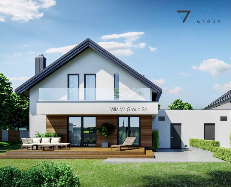 Immagine Villa V72 D - vista giardino