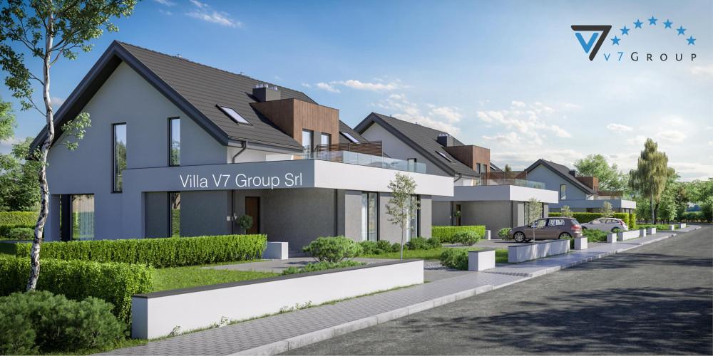 Immagine Villa V60 (progetto originale) - presentazione della Villa V61 B - Variante 1