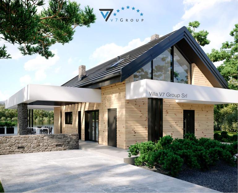 Immagine Villa V66 A - la vista frontale della villa
