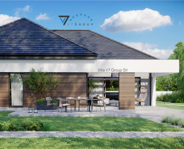 Immagine Villa V31 - Variante 4 - terrazzo esterno