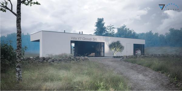 Immagine Nostre Ville - la parte frontale di Villa V86