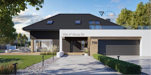 Immagine Ville di V7 Group Srl - la vista frontale di Villa V709