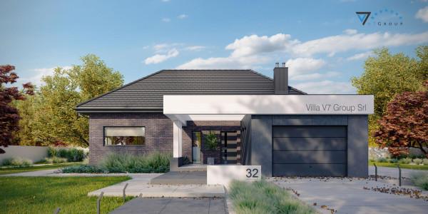 Immagine Ville di V7 Group Srl - la vista frontale di Villa V32