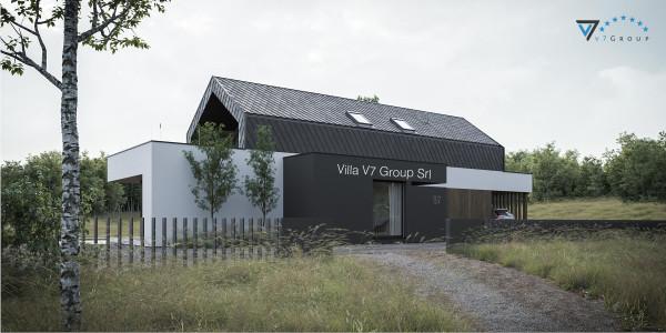 Immagine Ville di V7 Group Srl - la vista frontale di Villa V87