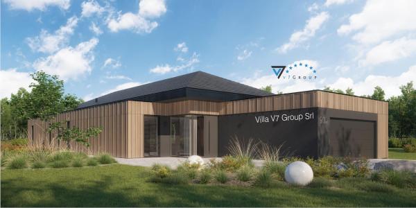Immagine Nostre Ville - la parte frontale di Villa V90 - Variante 1