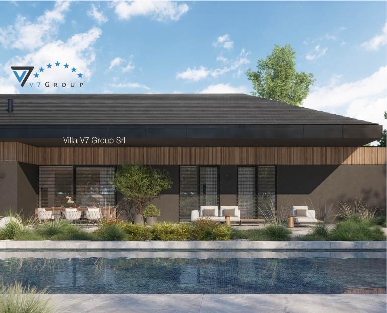 Immagine Villa V90 - Variante 1 - vista piscina